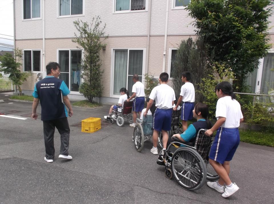 2018年6月27・28日 清和中学校職場体験