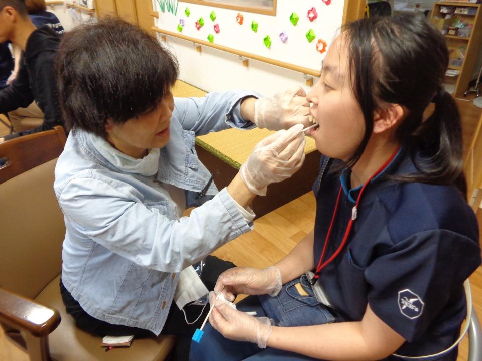 2018年6月5日 歯科衛生士さんによる口腔ケアについて勉強会