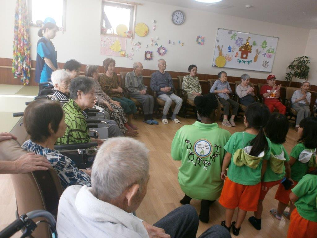 2018年9月28日 インターナショナル幼稚園ドレミの園児来苑