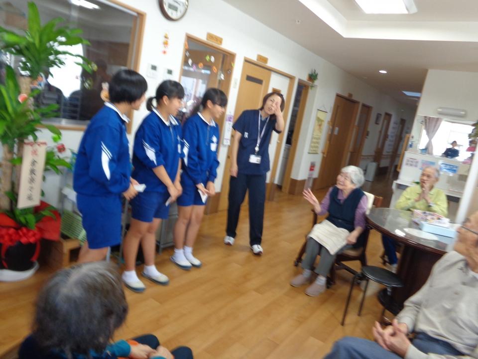 2018年10月 東中学校職場体験(チャレンジワーク)
