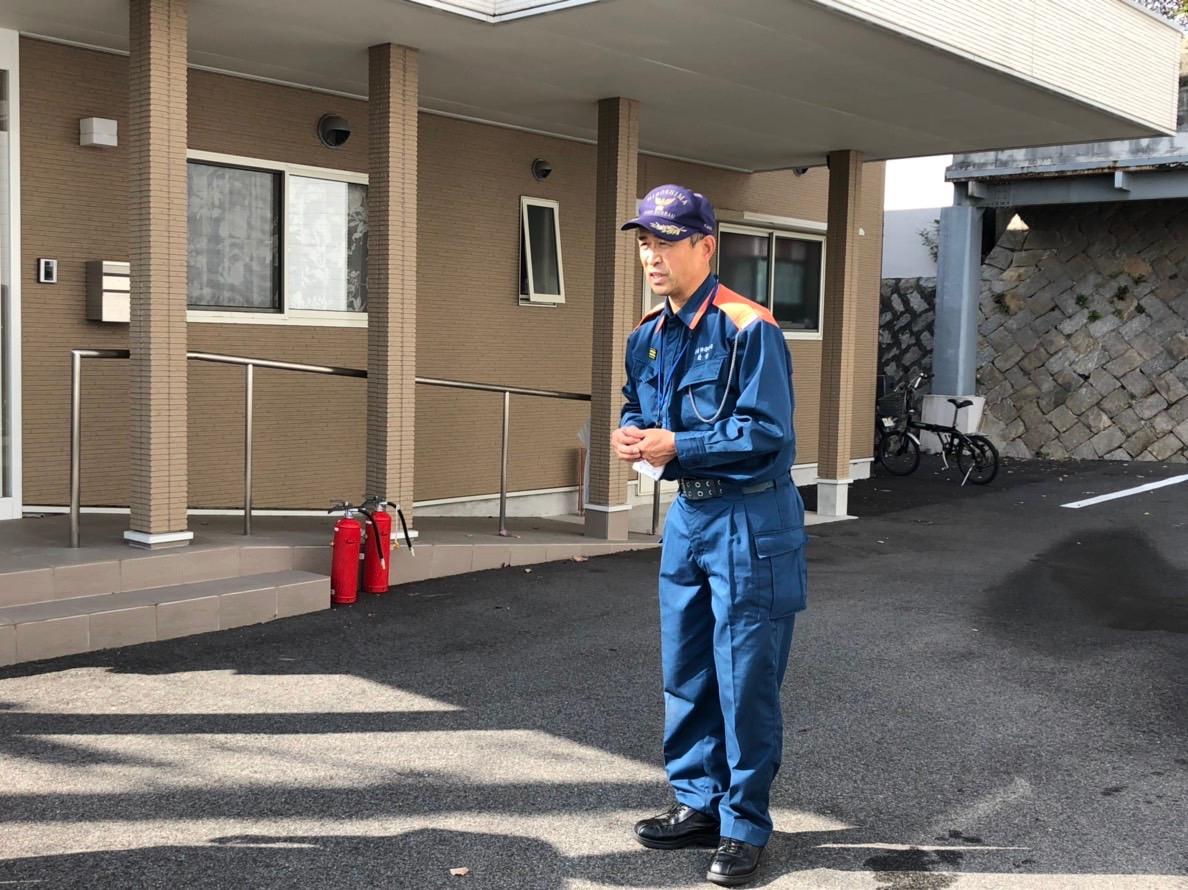 2018年11月 避難訓練