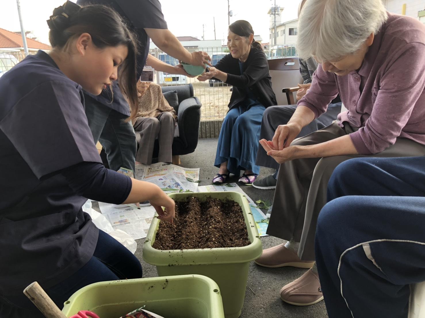 2018年10月15日 園芸療法