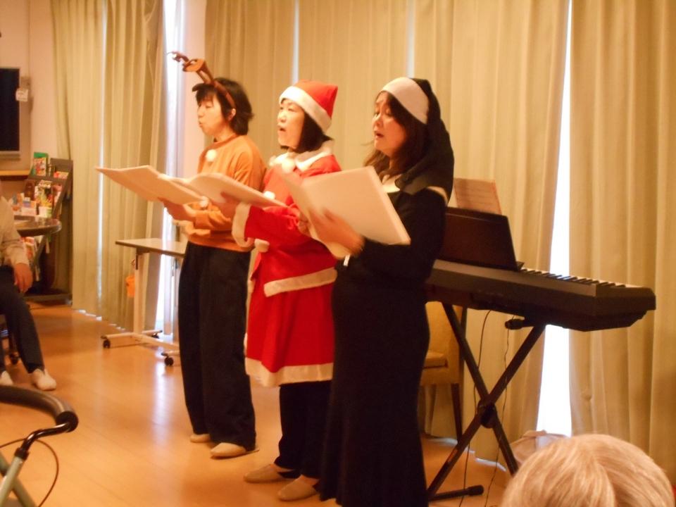 2018年12月25日 クリスマス会/音楽レク