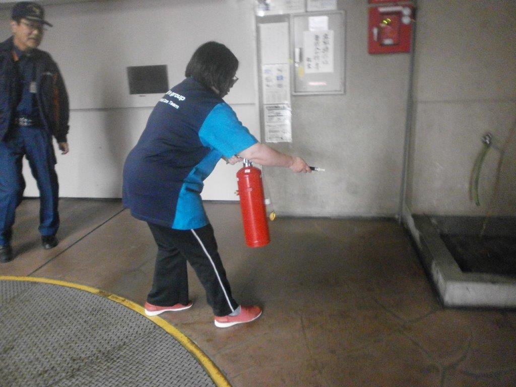 2018年11月30日 消防訓練