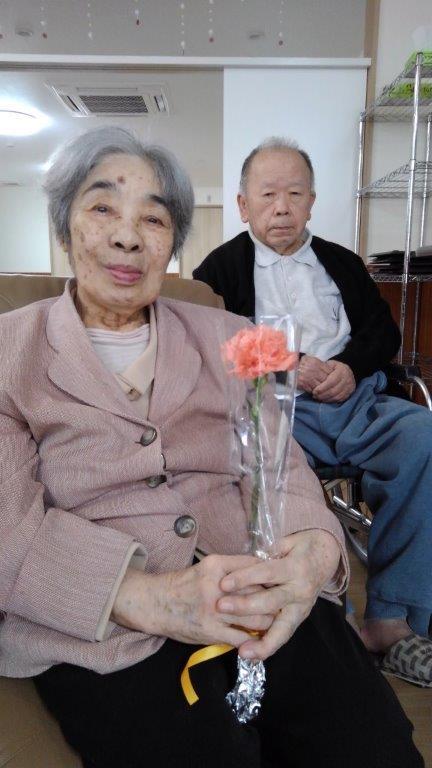 5月12日 母の日のお祝い会