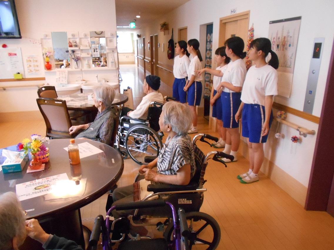 令和元年6月26日「清和中学校職場体験」