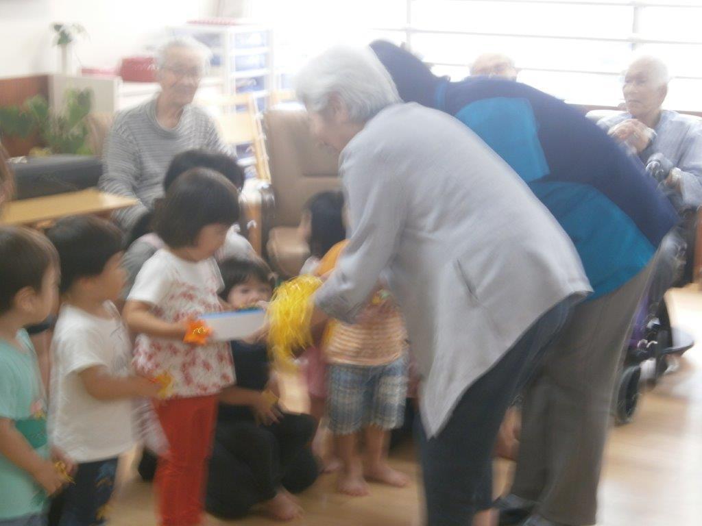 2019年7月5日 併設施設の保育園児さんの訪問