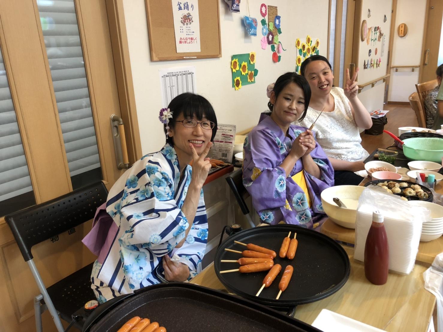 2019年8月10日 楽々苑夏祭り
