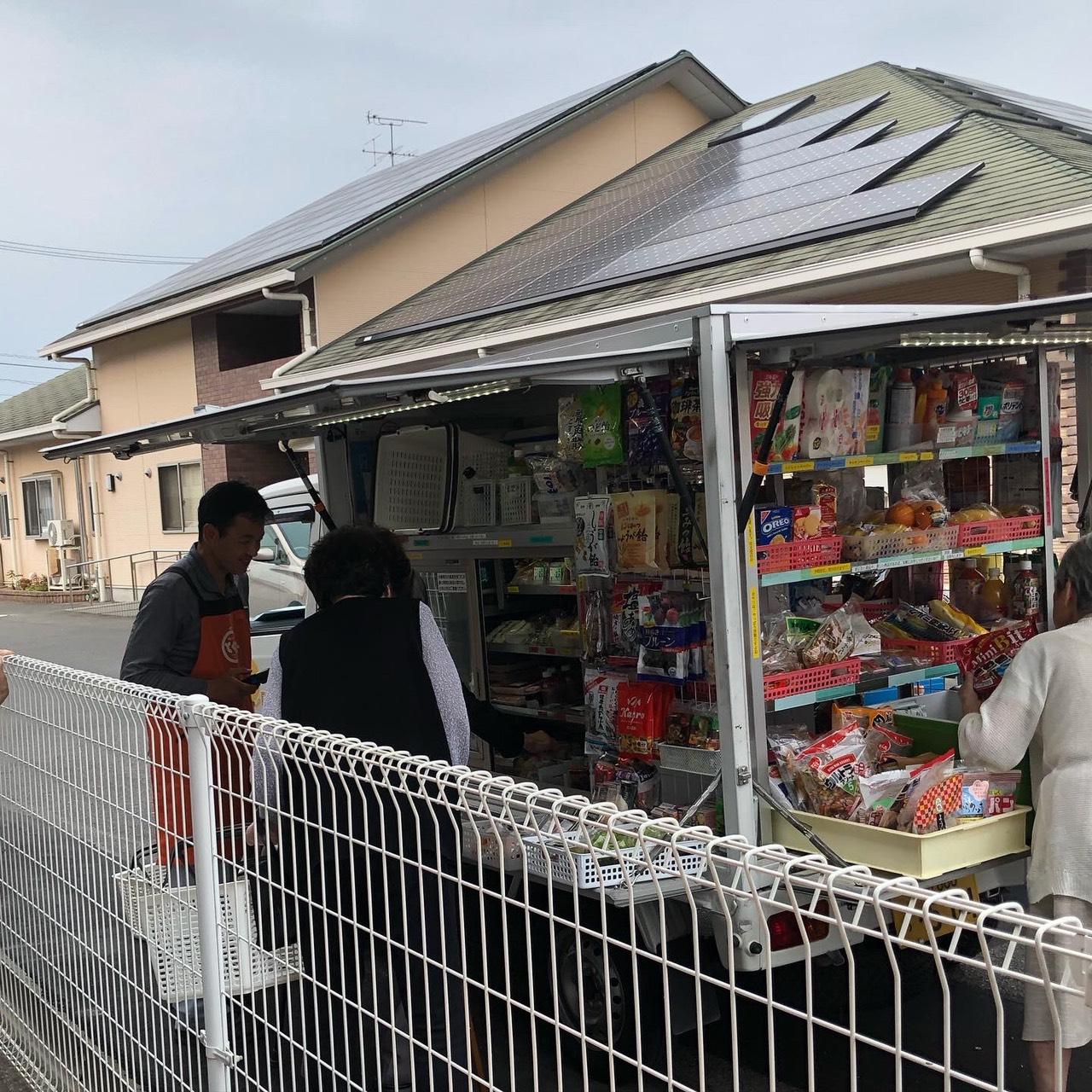 2019年10月7日 移動販売スーパー
