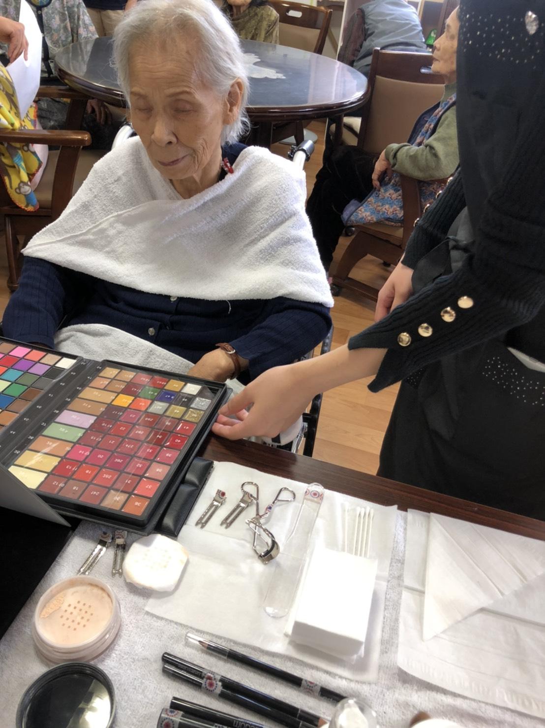 2019年10月17日 お化粧ボランティア