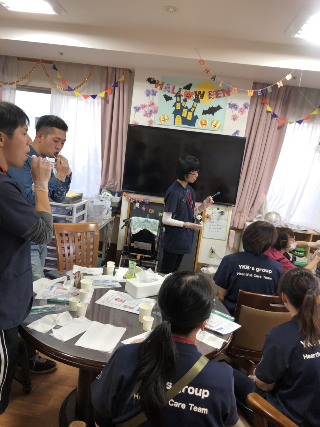 2019年10月28日 外部講師による口腔ケアの勉強会