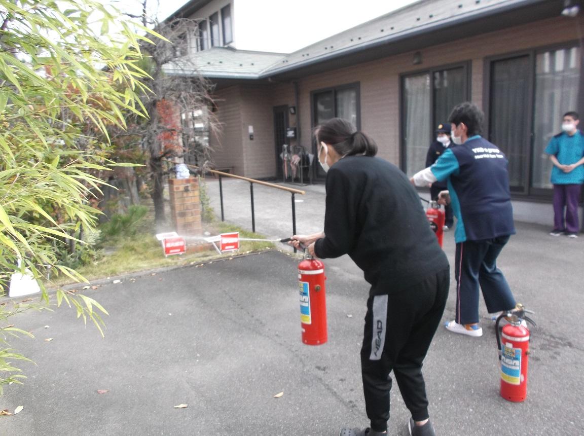 2020年11月10日「消防訓練」