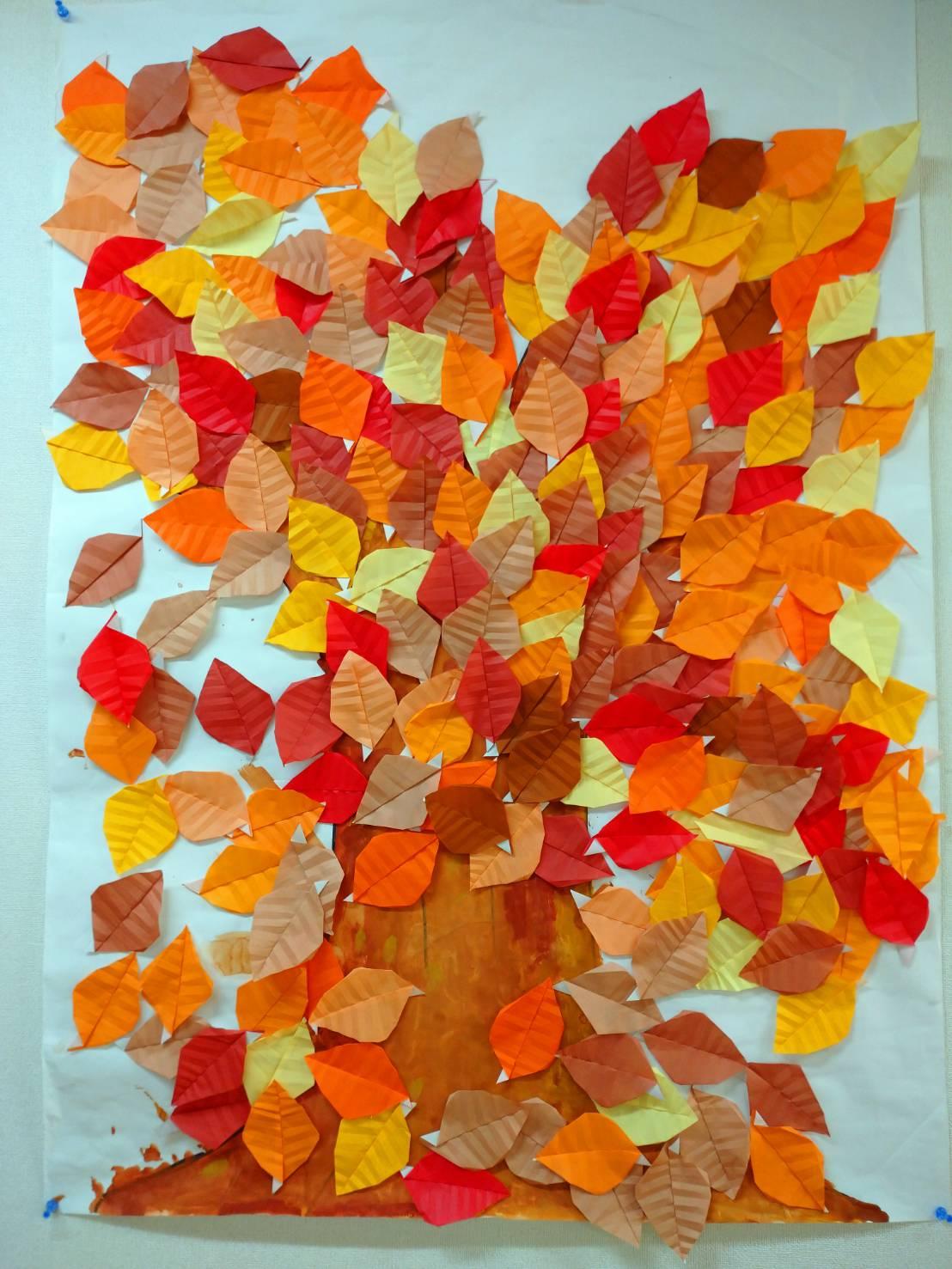 2021年10月17日「秋の壁画制作」